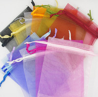 bags for select - 200Pcs X9 cm Organza Bag Wedding Favor Wrap Party Gift Bags colors for select new