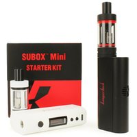 Wholesale 1 pc Kanger subox mini colors IN STOCK with subtank mini tank kangertech subox mini kit subvod eleaf ijust2