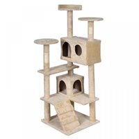 Wholesale 52 quot Cat Tree Tower Condo Furniture Scratch Post Kitty Pet House New T52