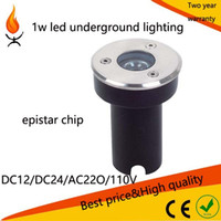 Wholesale high power DC12 DC24 AC110 AC220 w led underground buried yard lighting lm