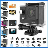 Wholesale Gopro Hero Style HD K Video Wide Angle Sports Camera Waterproof m inch LCD p HD action Camera H9