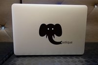 Wholesale logo For macbook Air Pro retina sticker macbook12 decal front Decal Skin vinly