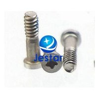 Wholesale 100pcs Original New Pentalobe Bottom Dock Screw Silver Black color for iPhone S s p sp