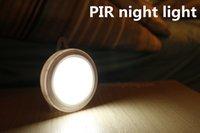 Wholesale PIR motion activated cordless led motion sensor human sensor light indoor led night light closet light sensor carbinet night light