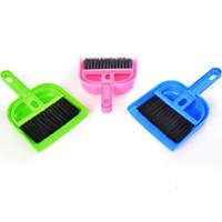 Wholesale New Everyday household Plastic broom dustpan Whisk Dust Mini Desktop cleaning brush Computer Keyboard Brush Even brush shovel