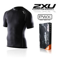 australia fitness - Australia XU men s athletic Compression Tights fitness in short sleeved shirts T shirts New