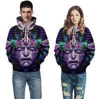avatar factory - Factory direct explosion models D Interstellar Flames pullovers Digital printing couple models sweatshirt Avatar sweater