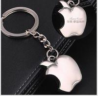 aa zinc - 2016 new creative hot metal gift cute iphone apple key high quality fine key chain AA