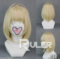 Wholesale Shiemi Cosplay Wig - FREE SHIPPING>Short BOB Ao no Exorcist-Shiemi Moriyama Yellow Anime Cosplay Wig