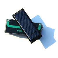 automobile application - W V mA Mini Solar Cell Polycrystalline Solar Panel For DIY Small Power Applications High Quality