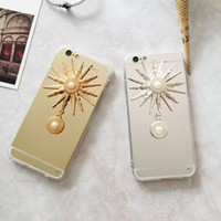 apollo dirt - Luxury Fashion Mirror Back Case Apollo Pattern Design Cell Phone Case Electroplate Galvanized Cell Phone Case for Iphone5 Iphon6 plus