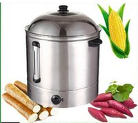 Wholesale CE approved L commercial temperature conroller food steamer snack steamer