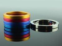 Cheap Steel metal rings Best aluminium alloy penis rings penis ring