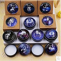Wholesale 12 Constellation Zodiac Perfumes Women Men Magic Solid Perfume Deodorant Solid Fragrance High Quality new