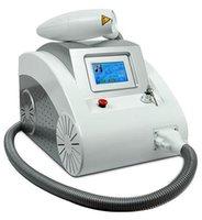 interrupteur q nd yag système d'enlèvement de pigment de tatouage au laser nouveau laser pour l'enlèvement de tatouage pour le salon