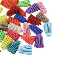 Wholesale 20PCs Crafts Terylene Decorative Tassel DIY Pendants Mixed cmx1 cm