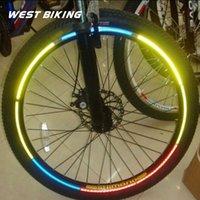 bicycle stripe sticker - 10 Bicycle Spokes Reflective Stickers Mountain Bike Circle Stripe Warning Strips Cycling Spoke