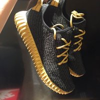 Wholesale Yellow Black Yeezys Color Neon Yeezy Boosts Training Shoes New Yeezy shoes for sale Hot new colorway