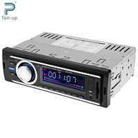 Wholesale car dvd V Car Radio Auto Audio Stereo MP3 Player AUX FM USB SD In Dash DIN Car Electronics Subwoofer With Remote