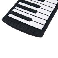 Acheter 49 main clé roulé de piano-2014 NOUVEAU 1PCS Piano électrique 88 Clés USB Roll Main Piano Silicon Piano Roll Up For Beginner Home Education Livraison gratuite Par courrier