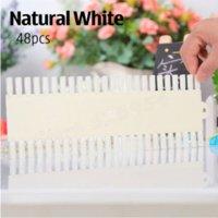 art supplies palettes - Nail Color Display Natural White False Nail Art Board Gel Polish Practice Nail Chart Nail Tips Palette Tools Supplies