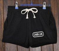Wholesale 6pcs cnblue bts ikon winner bigbang infinite got7 shinee cotton sports pants
