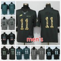Wholesale cheap New Eagles Carson Wentz Men s football jerseys Embroidery Name and Logos Welcome to order Green Black Gray