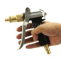 auto pressure sprayer - B86 quot Hot Brass Metal High Pressure Hose Nozzle Water Gun Sprayer Garden Auto Car Washing