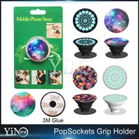 Wholesale Standing Universal Socket - 31 designs PopSockets Expanding Stand and Grip for Tablets Stand Bracket Phone Holder Pop Socket 3M Glue for iPhone 7 Note7 10pcs pcs