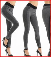 Wholesale Hot Sale Women Yoga Gym Pants Sport Stylish Jogging Bottoms Joggers Track High Rise Workout Gym Spanx Tights leggings for autumn Winter