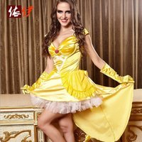 animations halloween costumes - Halloween Queen Cosplay Animation Costumes Europe And the United States Fun Game Uniform Princess Dress