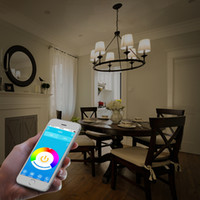 android lampe - LED Bulb lampe W E27 B22 Wireless Bluetooth Speaker RGB Color Smart LED Light Bulb Lamp For IOS Android DHL free