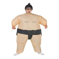 airblown halloween costumes - Kids Adults Inflatable Sumo Suits Wrestler Costume Outfits Fat Man Airblown Sumo Run Color Run Marathon Cosplay Purim Halloween