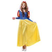 Wholesale Europe and the United States explosion models listed Halloween Costume Adult Female snow white dress length COS women s clothing W