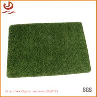 artificial turf costs - Lengthened super thick TPR turf carpet artificial simulation lawn mat Moisture proof durable and cost effective floor pad