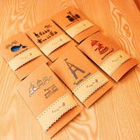 Precio de Tarjetas de navidad baratos-tarjetas de vacaciones baratos al por mayor de Corea del negocio de tarjetas creativa Gracias a la tarjeta de Navidad de Halloween 12 estilos