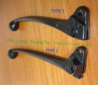 baja scooters - Left side drum brake lever for GY6 cc Chinese scooter Sunl Roketa Tank Baja Jonway JMSTAR