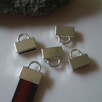 belt findings - 10 mm Antique Silver Bronze Flat End Caps mm Flat Leather Clasp Belt Leather Finding Man s Wedding Gift