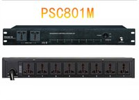 Wholesale DHL shipping universal plug A Timing front panel with two timing devices through socket Power Sequence Controller PSC801M