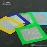 Wholesale Non Stick Silicone Mats For Wax cm Silicone Baking Mat Dab Oil Bake Dry Herb Pads S