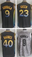 andre iguodala - Men s Andre Iguodala Green Harrison Barnes Black Grey Top Quality Drop Shipping Accept Mixed orders Hot Sale Shirts
