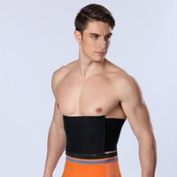 Wholesale HOT Men Waist cincher slimming belt Belly Abdomen Shaper girdle fitness men Body Shaper Belt colorful tummy trimmer