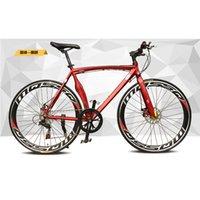 Wholesale Road Bike Aluminum Alloy Muscle Frame SHIMANO Shift Kit Double Disc Brake