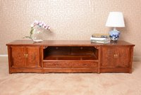 Wholesale Solid Rosewood TV Cabinet for Plasma LCD TVs African rosewood TV chest solid rosewood furniture