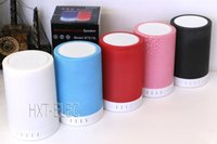 bass lamp - wireless speaker with bluetooth BT819L atmosphere lamp crackle printing with TF for any blueooth devices smartphone with strong bass