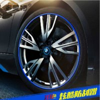 auto wheel rubber - Wheel Hub Protection Meter Roll Cut Off TPE Rubber Sticker Simple Installation Strip For All Auto Car styling Car covers