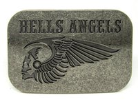 belt buckles motorcycle - Hells Angels MC Motorcycle Belt Buckle SW BY169 brand new condition with continous stock