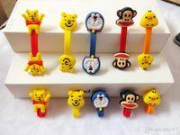 Wholesale Cute Cartoon Animal Shape Long MP3 Winder Headphone Cord Winder Fashion Silicone Cute Cable Winder