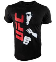 Martial Arts art mma - hot sale New arrived cotton Bruce Lee Family T shirts MMA Fight bjj Jiu Jitsu vale tudo shirts