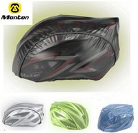 Wholesale Monton Cycling equipment Road bike MTB adjustable cycling Helmet Cover outdoor Bicycle dust proof windproof waterproof rain cover colors